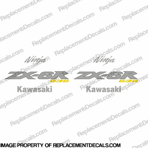 Kawasaki ZX-6R Decals