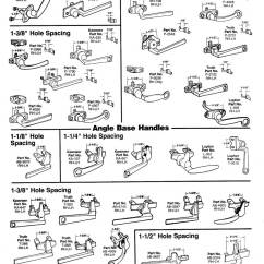 Toilet Repair Parts Diagram Central Air Conditioner Wiring Window Hardware - Project-in And Angle Base Handles | Wielhouwer Replacement Specialists