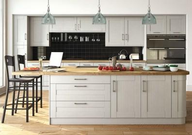Wilton Oakgrain Grey Kitchen
