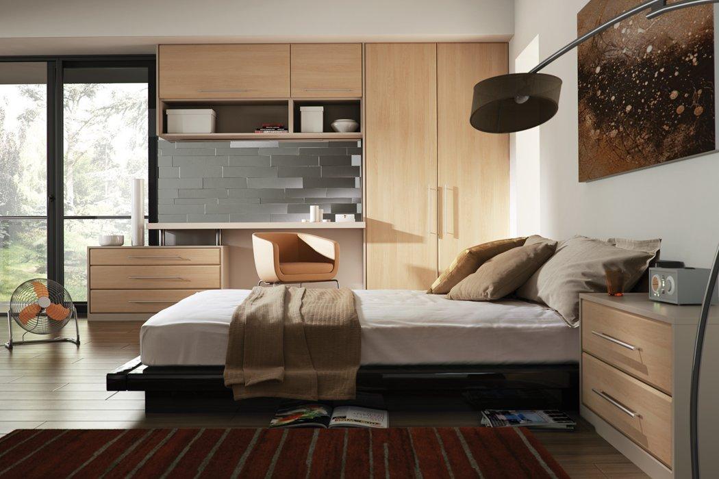 Bella Lincoln Canadian Maple Bedroom