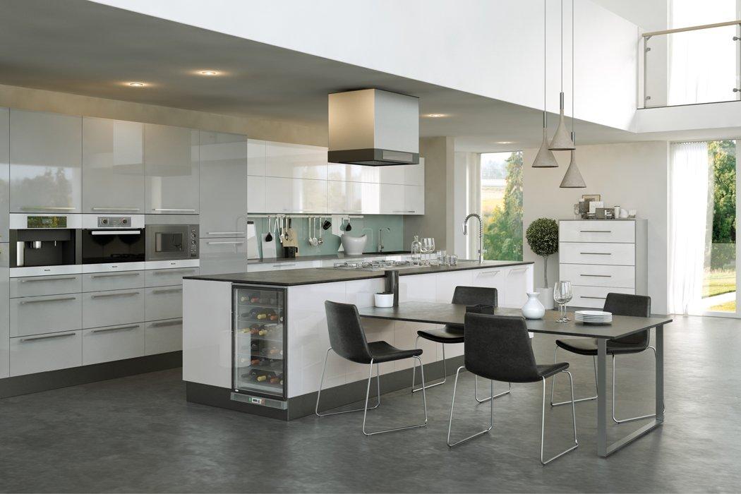 Pronto Firbeck Supergloss White Kitchen