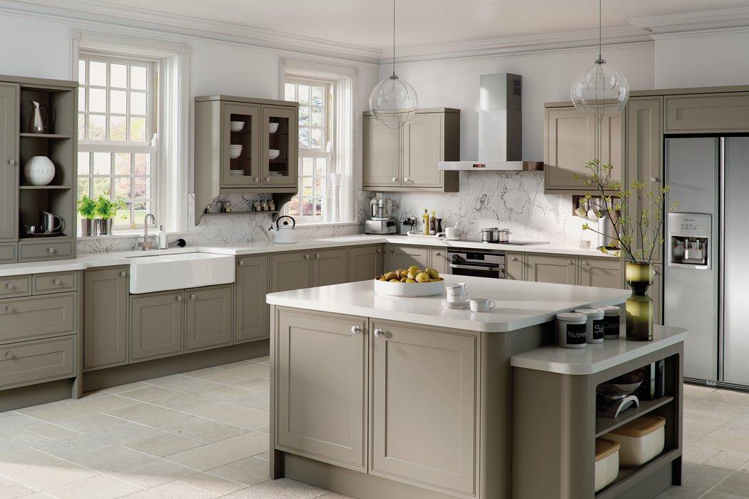 Matt Stone Grey Tullymore Kitchen
