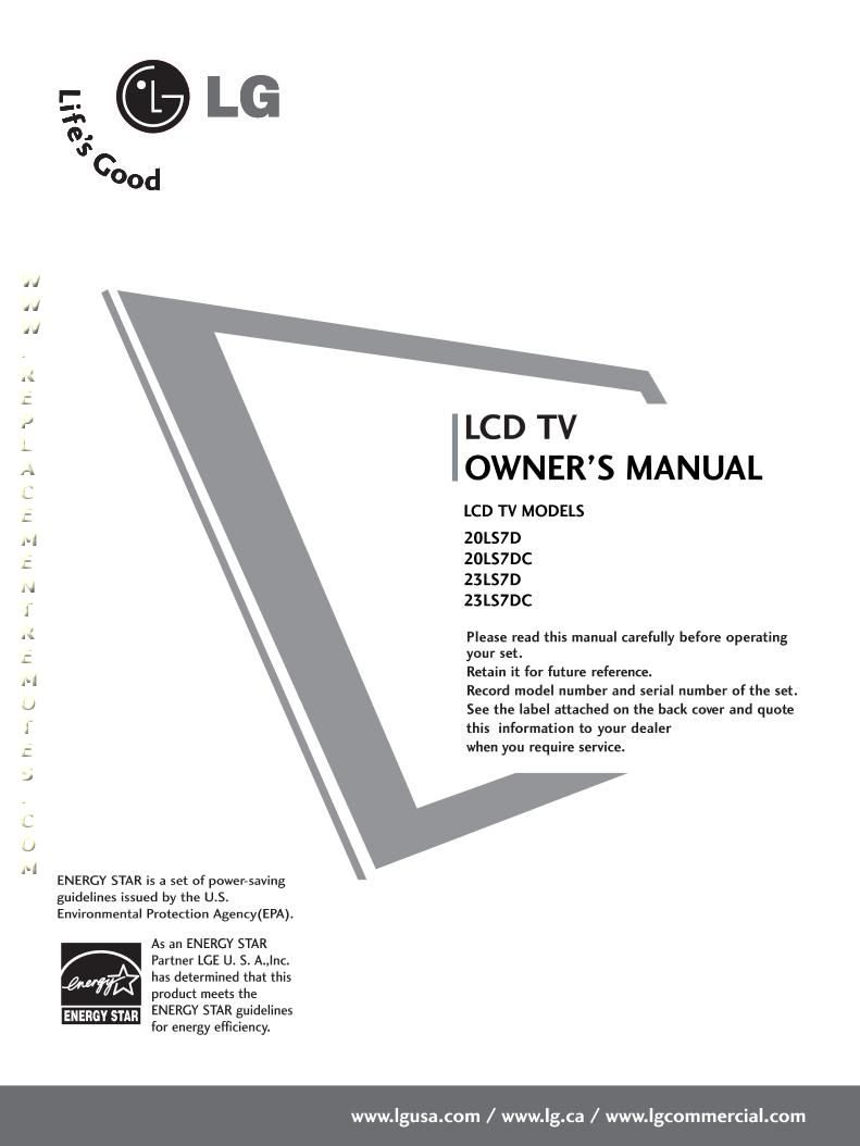 6710V00151W MANUAL PDF