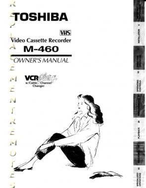 Buy TOSHIBA M460OM M460 Operating Manual