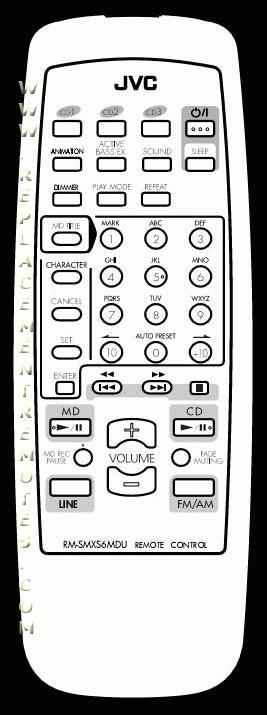 Buy JVC RM-SMXS6MDU RMSMXS6MDU Remote Control