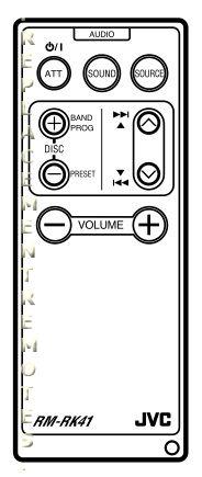 Buy JVC RM-RK41 RMRK41 Remote Control