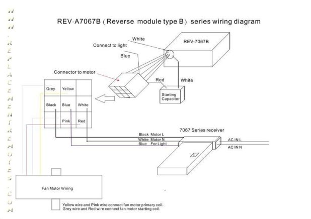 Hampton Bay Ceiling Fan Reverse Switch Wiring Diagram