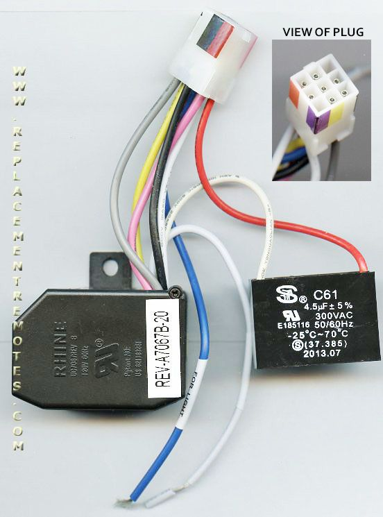 Buy HamptonBay Ceiling Fan Receiver Reverse Module
