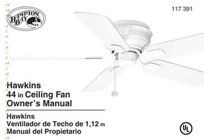 Buy Hampton-Bay FANHD UC7078TR FAN-HD with Reverse