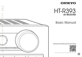 ONKYO HT-R393 Audio/Video Receiver