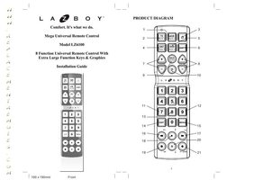 La-Z-Boy Remote Controls, Manuals and Parts