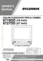 Buy FUNAI NE209UD TV/VCR/DVD Combo Remote Control