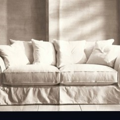 Rowe Nantucket Sofa Slipcover Replacement Half Round For Crate & Barrel Bloomsbury