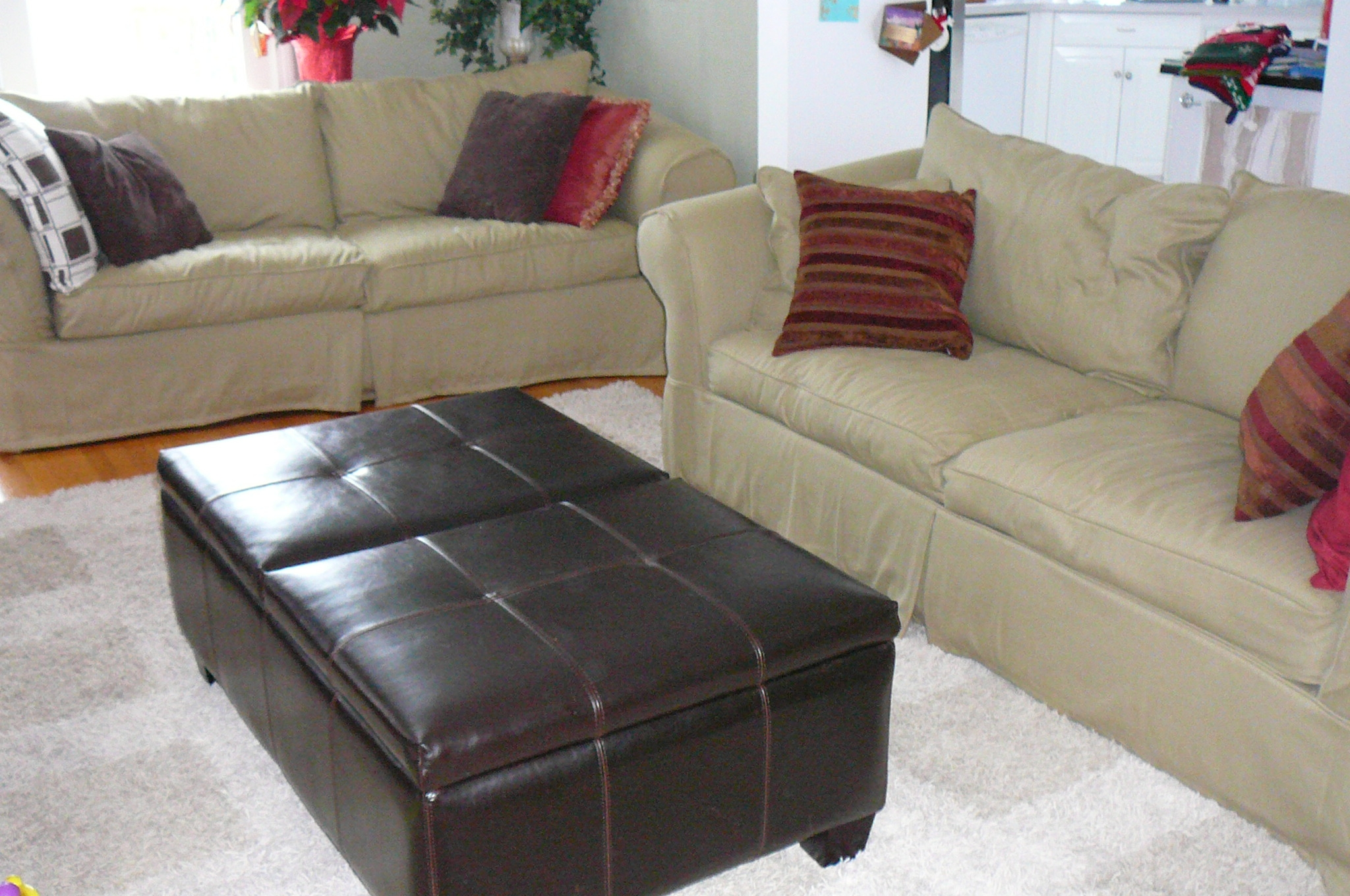 pottery barn leather sofa cleaning table sale replacement slipcover outlet slipcovers for