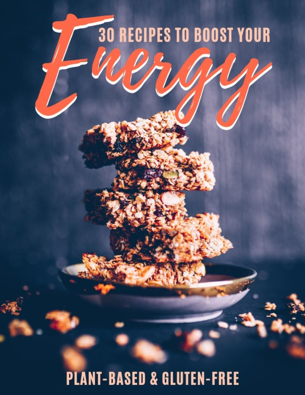 "Image of Replenish Health's eBook ""30 Recipes to Boost Your Energy"""