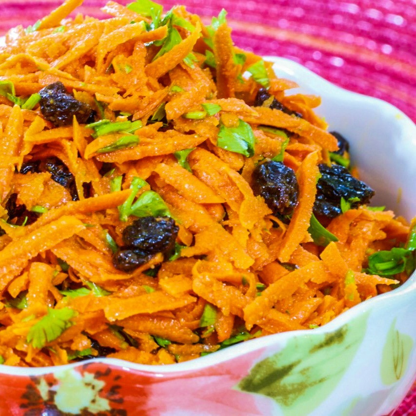 Image of Moroccan carrot salad