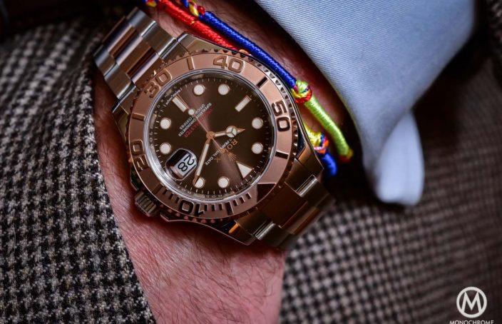 Rolex yachtmaster rose gold real vs fake  Modeschmuck