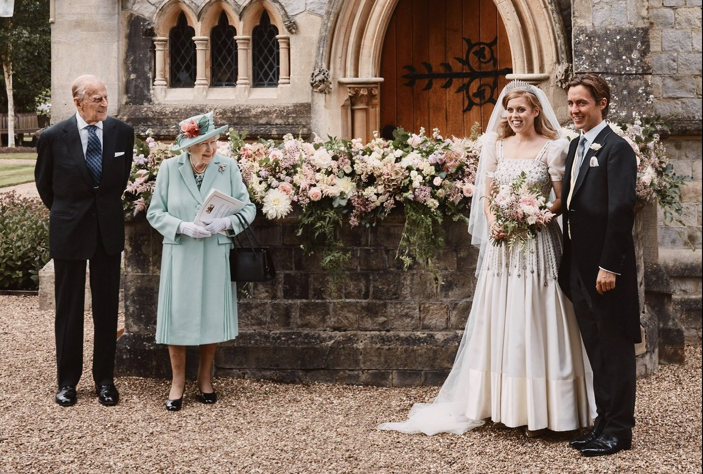 UPDATED: Princess Beatrice remodels Queen's 1960s dress for wedding day