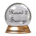 Round 2 Surveys crystal ball award