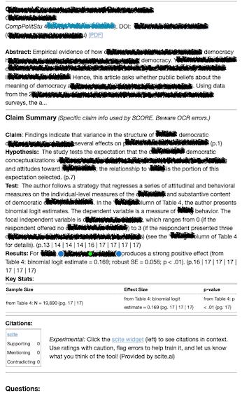redacted claim