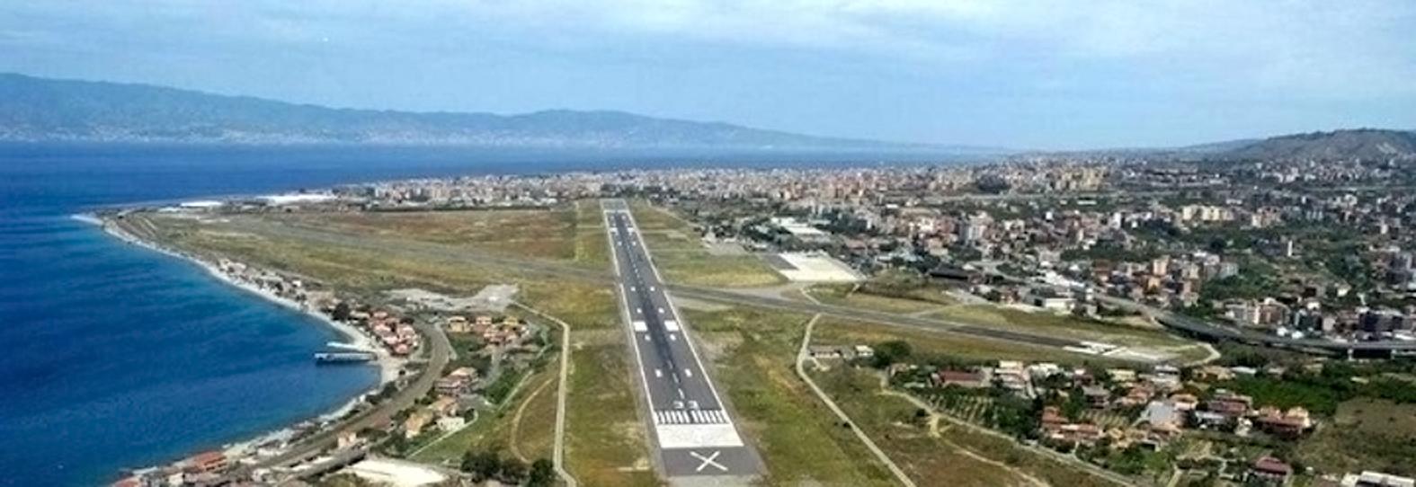 Aeroporto dello Stretto In aumento i movimenti commerciali e il traffico passeggeri nellultimo