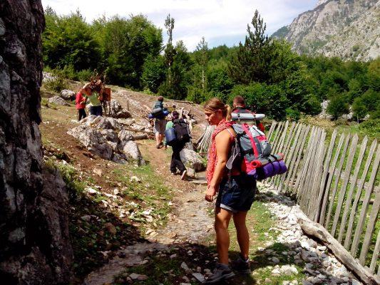 Turistë në luginën e Valbonës | Foto nga Ylli Durishti/Flickr