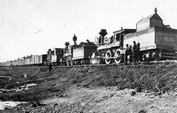 transcontinental railroad completed 150