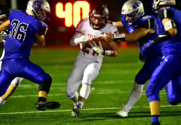 Loveland High School's JoJo Bork runs ...