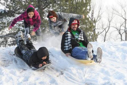 Image result for sledding""