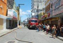 Photo of Corredor de ônibus continua parcialmente interditado após incêndio em lojas
