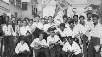 Photo of Carnaval na rua Moreira Lima, Centro, Maceió, 1953