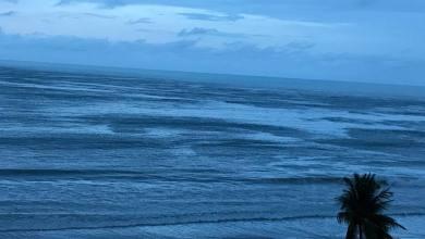 Photo of Tantos tons do azul na praia da Avenida da Paz – Maceió/AL, ao alvorecer, Foto: Enio Lins