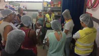 Photo of Parceria entre Ronda no Bairro e Mesa Brasil leva oficina a escola em Jacarecica