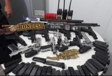Photo of MILÍCIA? Grupo de PMs e guarda municipal de Alagoas é detido com forte armamento na Bahia