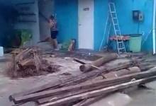 Photo of DESTRUIÇÃO EM ALAGOAS! Vendaval danifica casas, restaurantes e escolas; Assista!