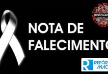 Photo of NOTA DE FALECIMENTO – Jair Marcel – 12/07/2020
