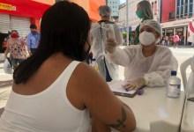 Photo of Barreiras Sanitárias montadas no Centro de Maceió orientam população sobre Covid-19