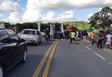 Photo of Colisão frontal entre caminhões deixa três pessoas feridas na BR-316