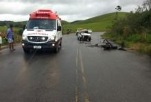 Photo of Acidente entre carro e moto deixa dois feridos na AL-105, em Porto Calvo