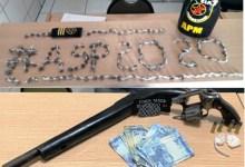 Photo of 5º BPM e APM realizam prisões por Porte Ilegal de Arma de Fogo e Tráfico de Drogas