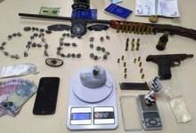Photo of Unidades realizam apreensões de drogas e armas de fogo