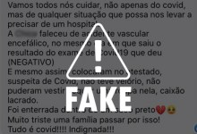 Photo of FAKE NEWS: hospitais não registram indiscriminadamente vítimas de acidentes como casos de Covid-19