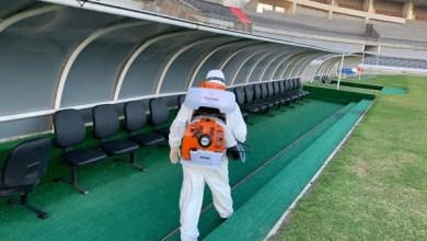 Photo of FUTEBOL: na semana da retomada, Selaj inicia sanitização do Estádio Rei Pelé