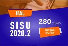 Photo of OPORTUNIDADE: Ifal oferta 280 vagas em cursos superiores pelo Sisu 2020.2