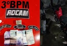 Photo of Polícia Militar registra apreensões de drogas e recuperação de veículo roubado