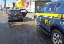 Photo of RECEPTAÇÃO: PRF prende homem com veículo roubado na BR-101, em Rio Largo