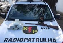 Photo of Em menos de 4 horas, Batalhão de Radiopatrulha apreende seis armas de fogo e 5,7 kg de drogas