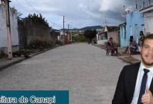 Photo of AVANÇO! Prefeitura municipal de Canapi realiza a pavimentação de várias ruas na cidade e nos povoados da zona rural; Assista!