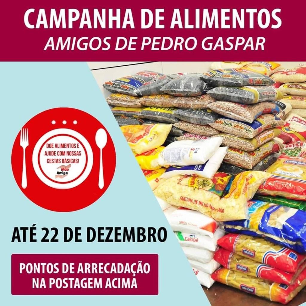 """A Campanha de Alimentos """"Amigos de Pedro Gaspar 2020"""" em Pirassununga"""