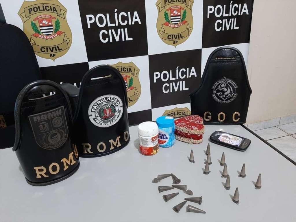 Ação entre PCJ e GCM resulta na prisão de dois homens por suspeitas de tráfico de drogas